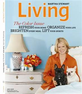 Martha Stewart Living magazine cover